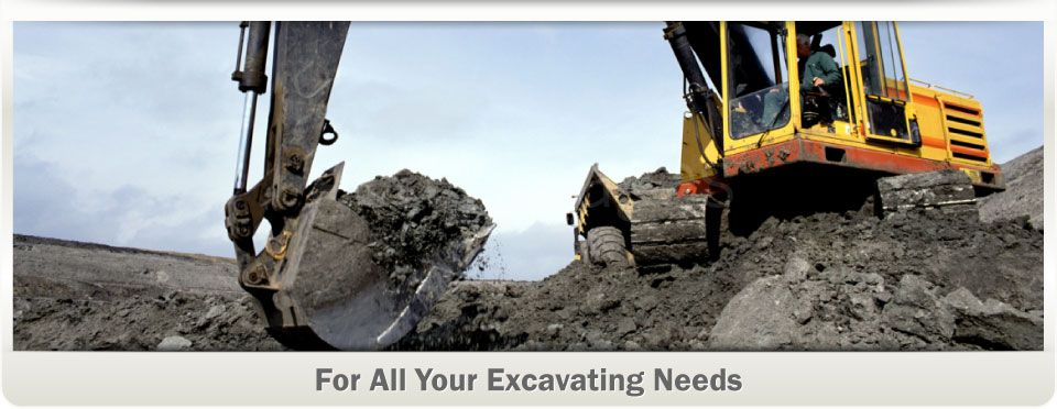 For All Your Excavating Needs | Construction equipment